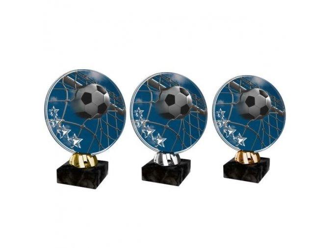 Akrylátová trofej CACL2103M2 Fotbal