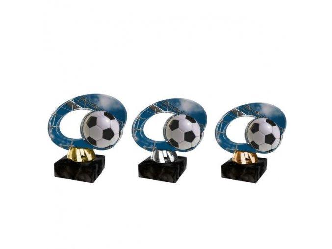 Akrylátová trofej CACL2102M1 Fotbal