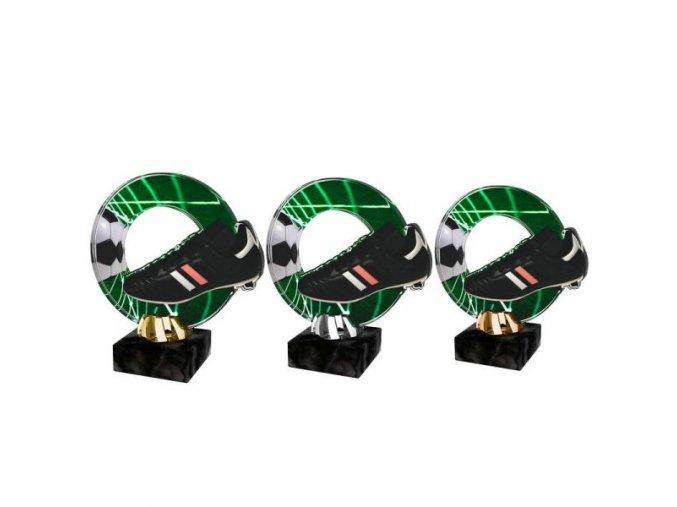 Akrylátová trofej CACL2101M5 Fotbal