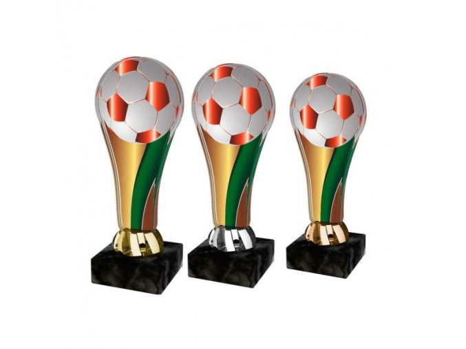 Akrylátová trofej ACL2100M04 Fotbal