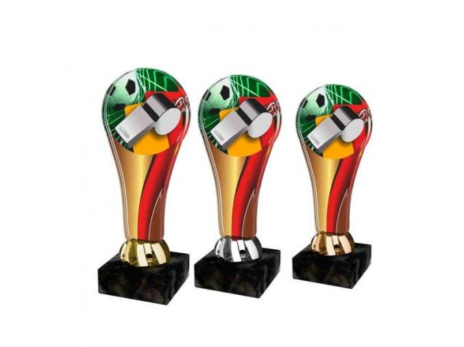 Akrylátová trofej ACL2100M05 Fotbal