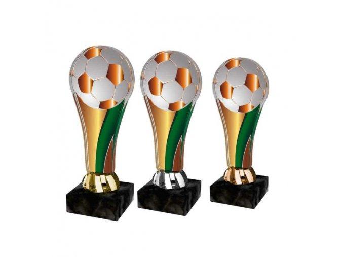 Akrylátová trofej ACL2100M02 Fotbal