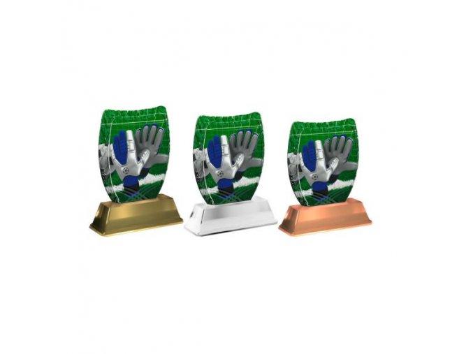 Akrylátová trofej ACE2002M05 Fotbal