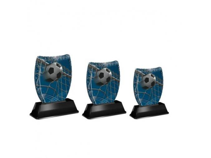 Akrylátová trofej ACE0001M02 Fotbal