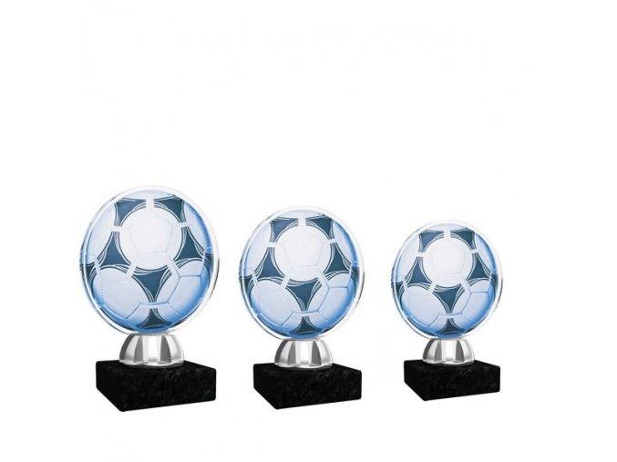 Akrylátová trofej CACL1031NM6 fotbal