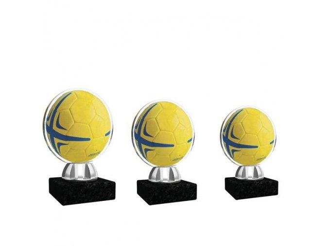 Akrylátová trofej CACL1031NM1 fotbal