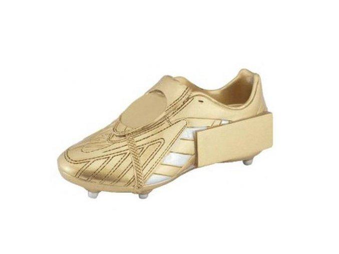 Trofej  CFG630 fotbalová bota zlatá