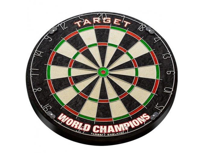 Sisalový terč Target World Champion Round Wire