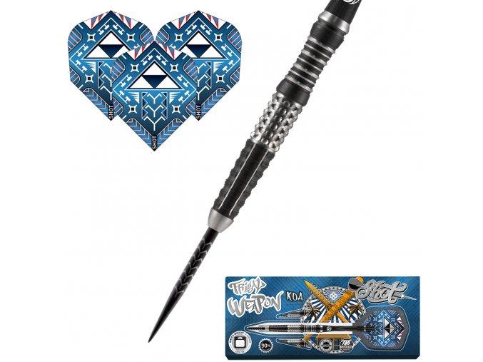 Šipky steel Tribal Weapon KOA 90% 23g
