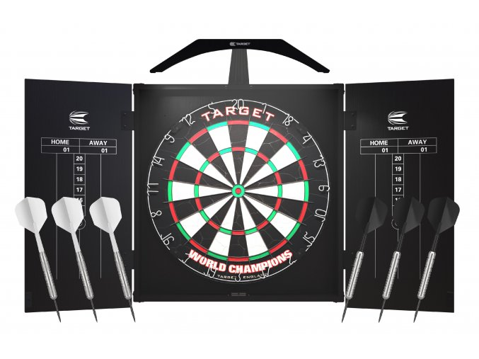 Dart Set Target ARC kabinet + terč + osvětlení
