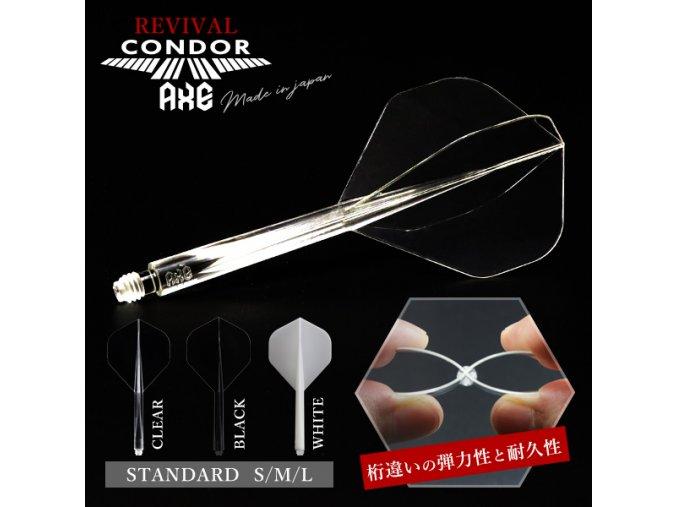 Letky CONDOR AXE standard No2 CLEAR