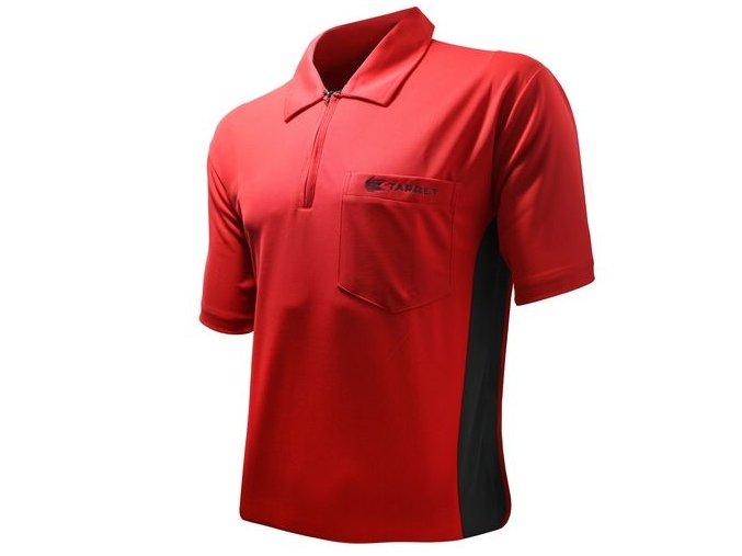 Tričko COOLPLAY HYBRID red/black