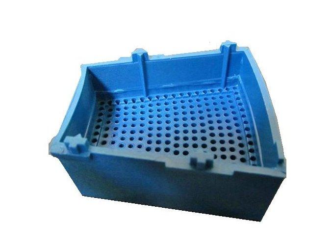Segment Single modrý lichoběžník