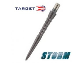 Hroty steel STORM POINT GROOVED black 26 mm