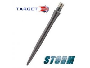 Hroty steel STORM POINT SMOOTH black  30 mm