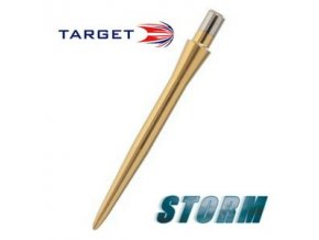 Hroty steel STORM POINT SMOOTH gold 30 mm