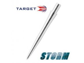 Hroty steel STORM POINT SMOOTH silver 30 mm