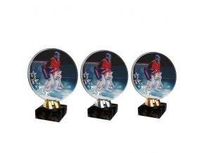 Akrylátová trofej CACL2103M11 Hokej