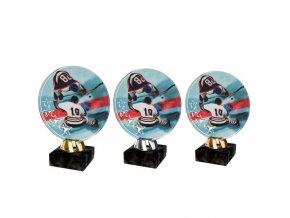 Akrylátová trofej CACL2103M9 Hokej