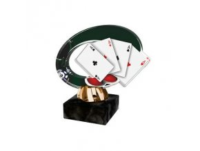 Akrylátová trofej CACL2102 M33 Karty