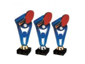 Akrylátová trofej CPLA0007 Stolní tenis