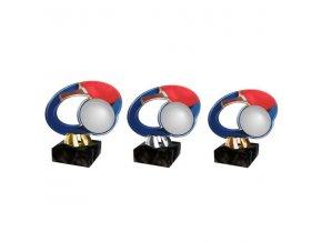 Akrylátová trofej CACL2102M15 Stolní tenis