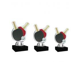 Akrylátová trofej CACT1201M4 stolní tenis