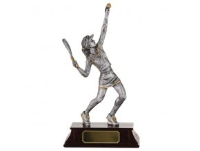 Trofej  CRF0101 tenistka  Výška 19,5cm