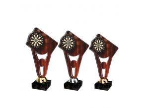 Akrylátová trofej CPLA00014 Šipky