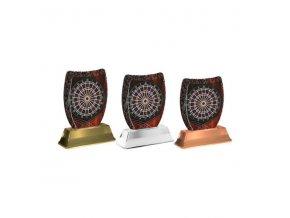 Akrylátová trofej ACE2002M25 Šipky