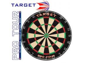 Sisalový terč Target PRO TOUR  1ks