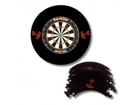 Pro Tour Dartboard Surround black 4D
