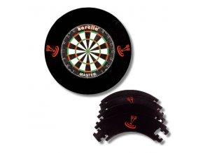 Dartboard Surround black 4D