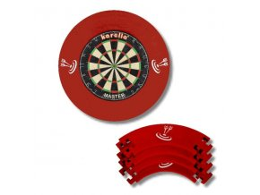 Pro Tour Dartboard Surround red 4D