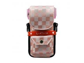Pouzdro na šipky KRYSTAL L-Style  Check Pink