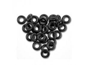 Gumičky černé 1000ks