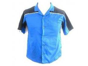 Košile Dart shirt blue/black 5XL