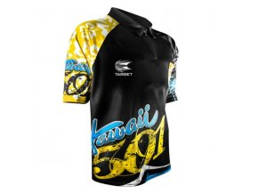 Tričko COOLPLAY WAYNE MARDLE black/yellow/blue