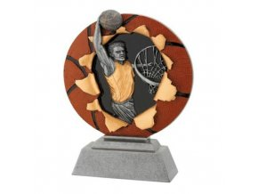 Plaketa  CFG1131 basketbal C výška 16cm