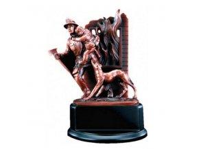 Trofej  CFG60568 hasiči Výška 20,5cm