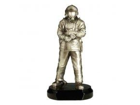 Trofej  CF320  hasič  Výška 33 cm