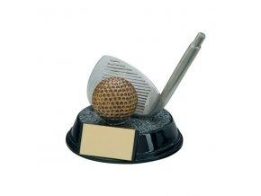 Trofej plaketa CRF4160 golf Výška 11,5cm