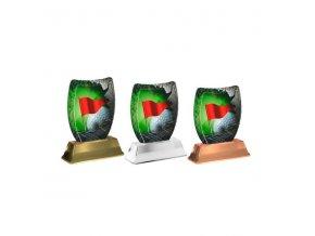 Akrylátová trofej ACE2002M13 Golf