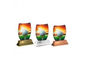Akrylátová trofej ACE2002M11 Golf