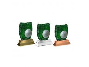 Akrylátová trofej ACE2002M09 Golf