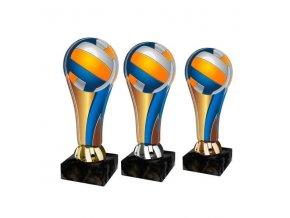 Akrylátová trofej ACL2100M18 Volejbal