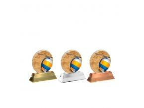 Akrylátová trofej ACE0003M15 Volejbal