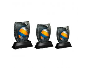 Akrylátová trofej ACE2001M17 Volejbal