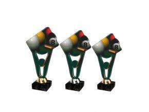 Akrylátová trofej CPLA0013 Kulečník
