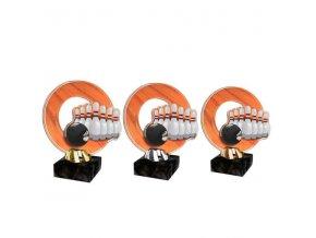 Akrylátová trofej CACL2101M30 Bowling